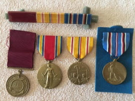 My Dad's WWII ribbons
