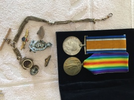 Grandpa Jose's mementos from The Great War