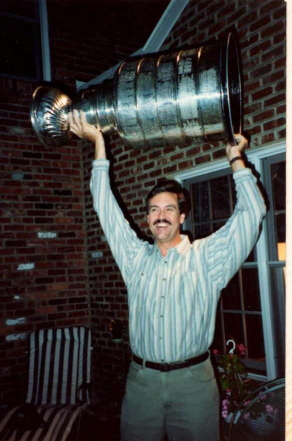 Doug with Stanley Cup