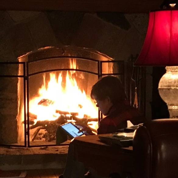 Jen by the Fire
